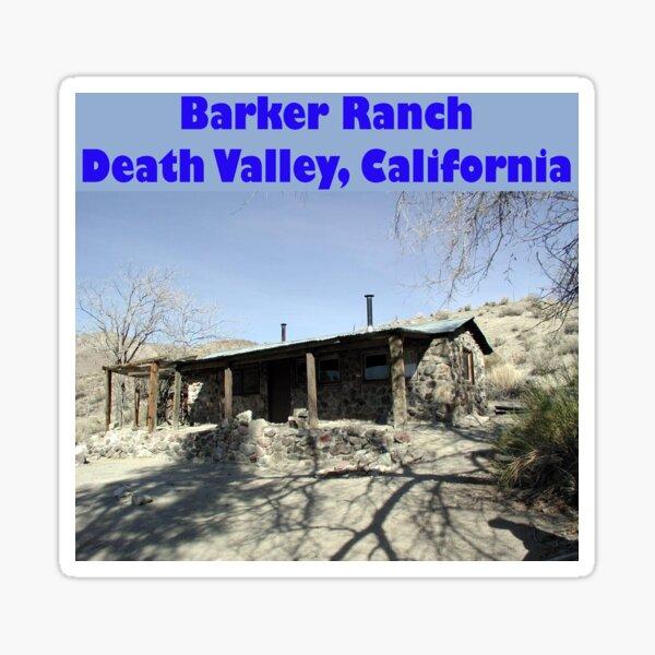 Barker Ranch Sticker