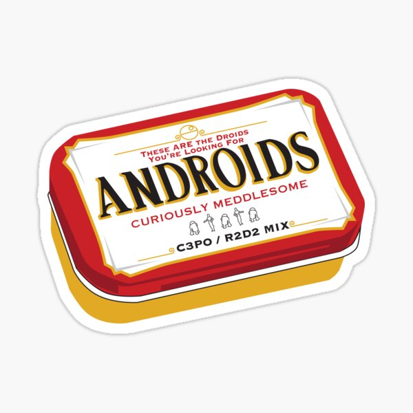 Androids Sticker