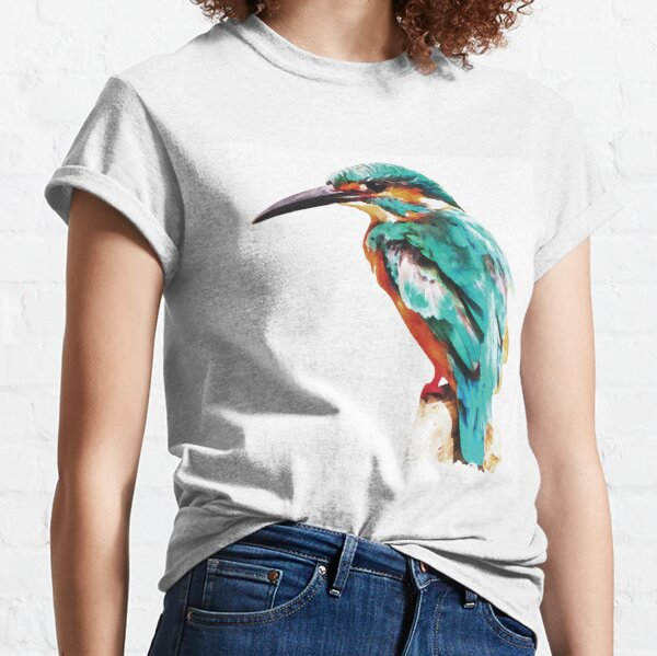Kingfisher bird Classic T-Shirt