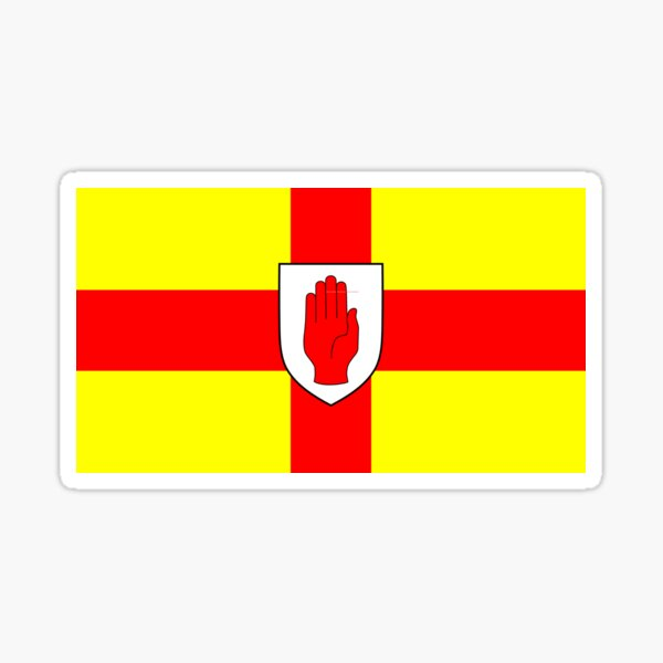 Flag of the Province of Ulster  Sticker