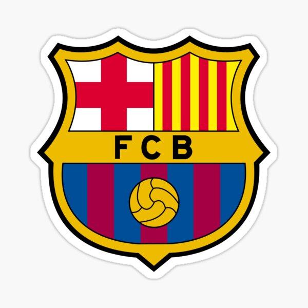 Escudo Barcelona Pegatina