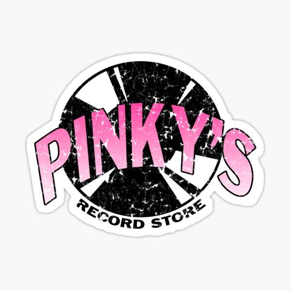 Pinkys Record Store Sticker
