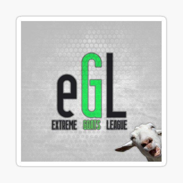 eXtreme Goats League Sticker