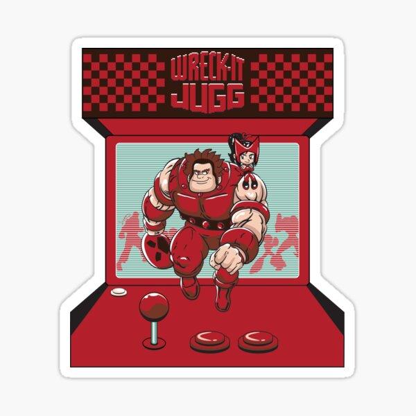 Wreck-It Juggernaut Sticker