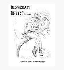 BushcraftBetty02 Photographic Print