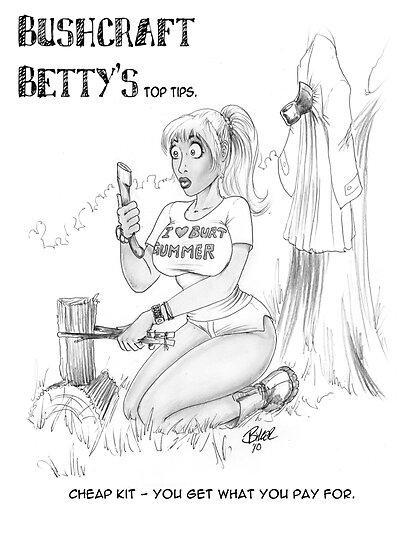 Bushcraft Betty03 by Biker