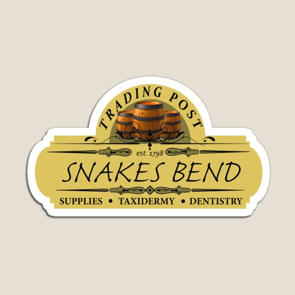Almost Heroes - Snakes Bend Trading Post Magnet