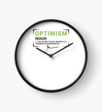 Reloj Gary Vaynerchuk / Gary Vee - Optimismo - La salsa secreta detrás de todos los empresarios ganadores - NEGRO