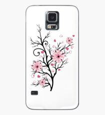Kirschbaum Kirschblüten mit Herzen Sakura Frühling Hülle & Skin für Samsung Galaxy