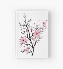 Kirschbaum Kirschblüten mit Herzen Sakura Frühling Notizbuch