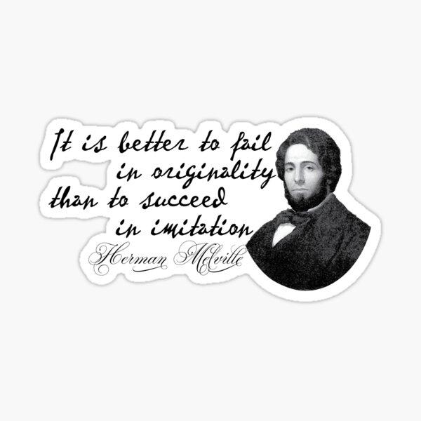Herman Melville Pegatina