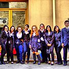 """group's shot with teacher by Antonello Incagnone """"incant"""""""