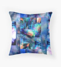 Abstract Composition – May 15, 2010  Throw Pillow
