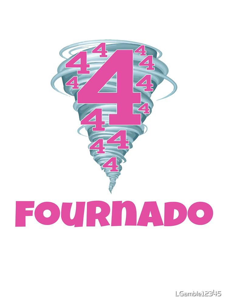 Cute Funny Fourth Birthday Fournado Girls Design Kids T Shirt By Lgamble12345 Redbubble