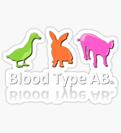 TYPE AB Sticker