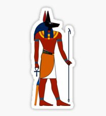 Anubis | Egyptian Gods, Goddesses, and Deities Sticker
