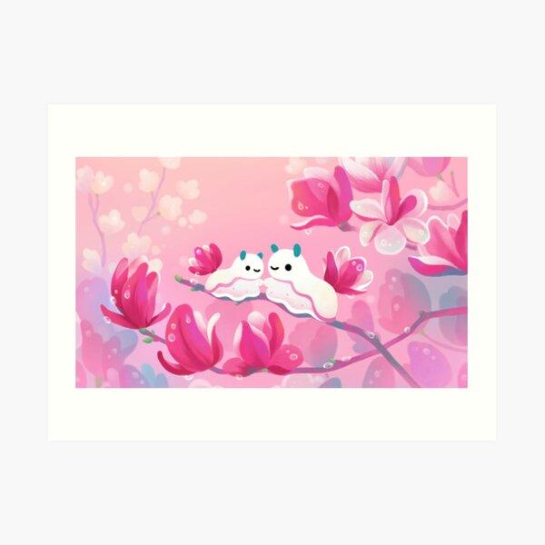Magnolia sea slug Art Print