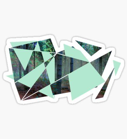 Verwobener Wald Sticker