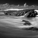 Air, Water, Rock Study V by Tatiana R