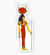 Hathor Solar | Egyptian Gods, Goddesses, and Deities Sticker