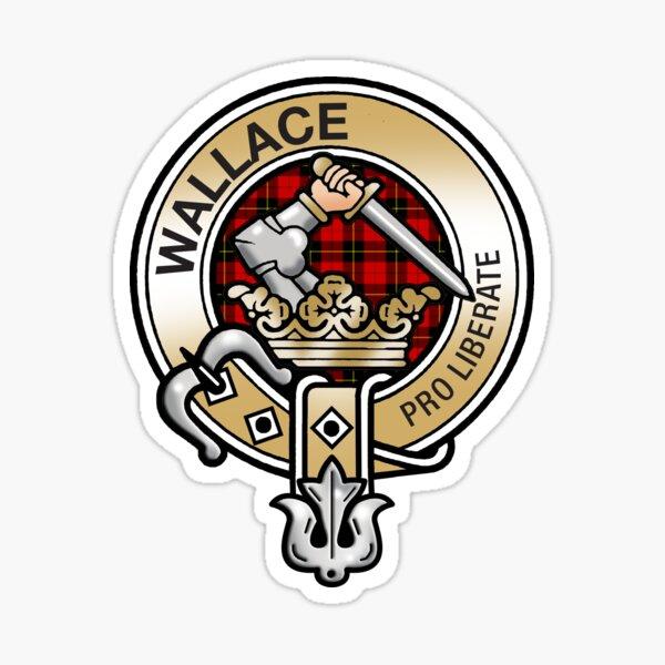 Wallace Clan Crest Sticker