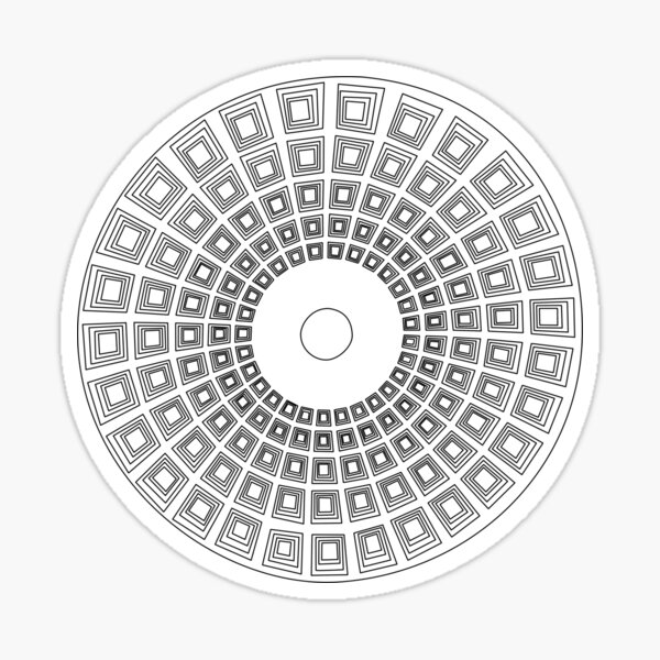Pantheon Sticker
