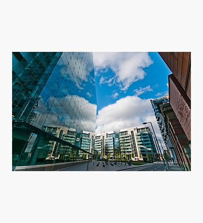 Manchester Reflections Photographic Print