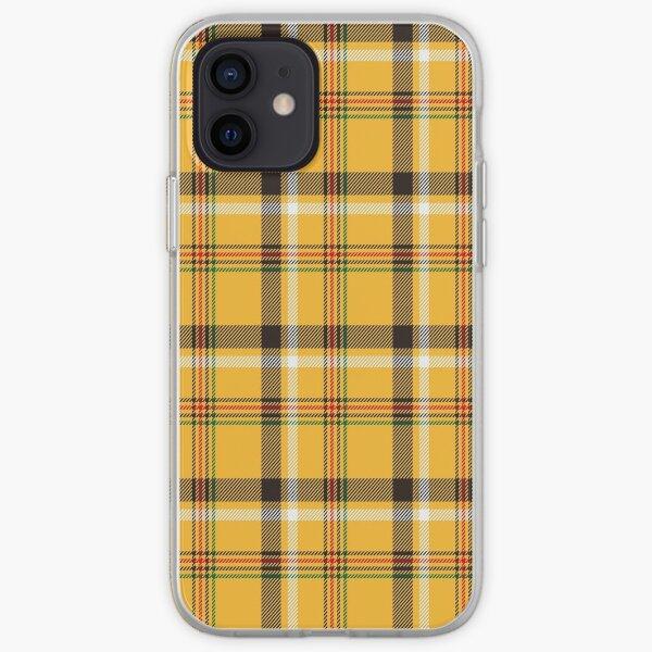Yellow Plaid iPhone Soft Case