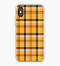 Yellow Plaid iPhone Case