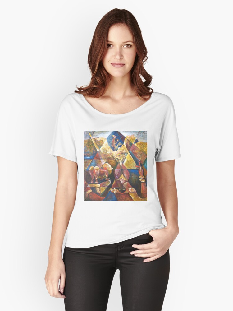 My Golden Triangle  Women's Relaxed Fit T-Shirt Front