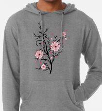 Kirschbaum Kirschblüten mit Herzen Sakura Frühling Leichter Hoodie