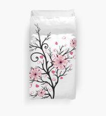Kirschbaum Kirschblüten mit Herzen Sakura Frühling Bettbezug