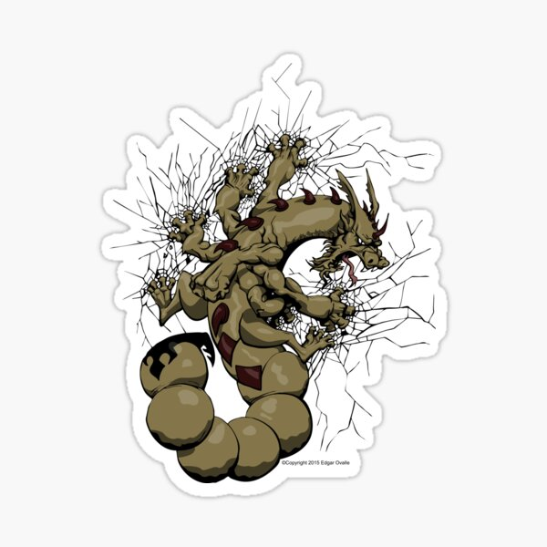 Escorpión Sticker