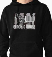 Black & White Pullover Hoodie