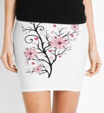 Kirschbaum Kirschblüten mit Herzen Sakura Frühling Minirock