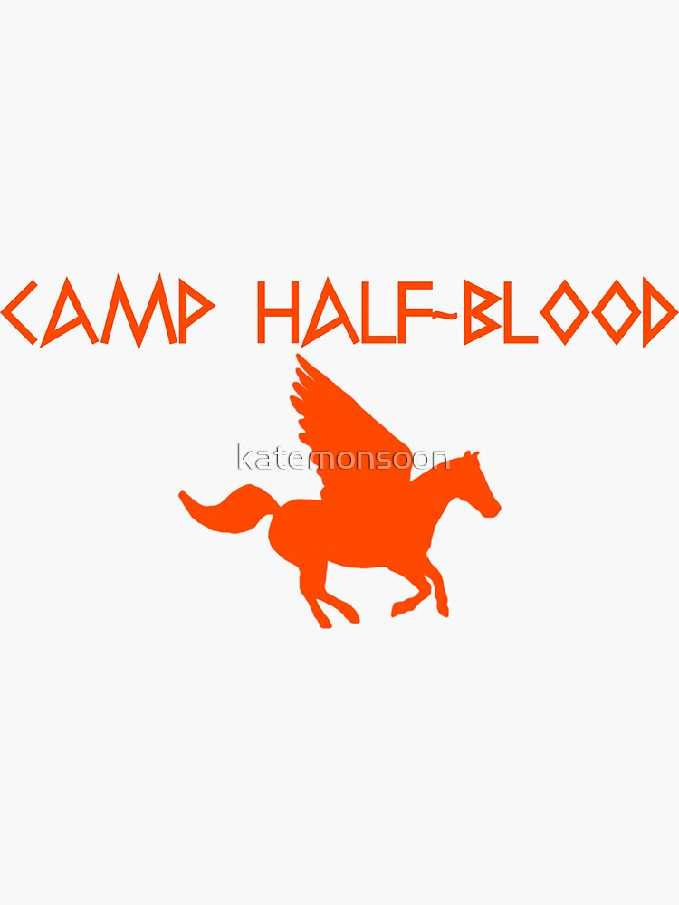 Camp Half-Blood - Orange Logo by katemonsoon