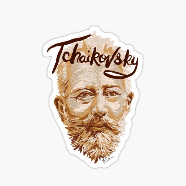 Tchaikovsky - classical music composer Sticker