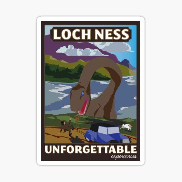 Visit Loch Ness - Brown Sticker