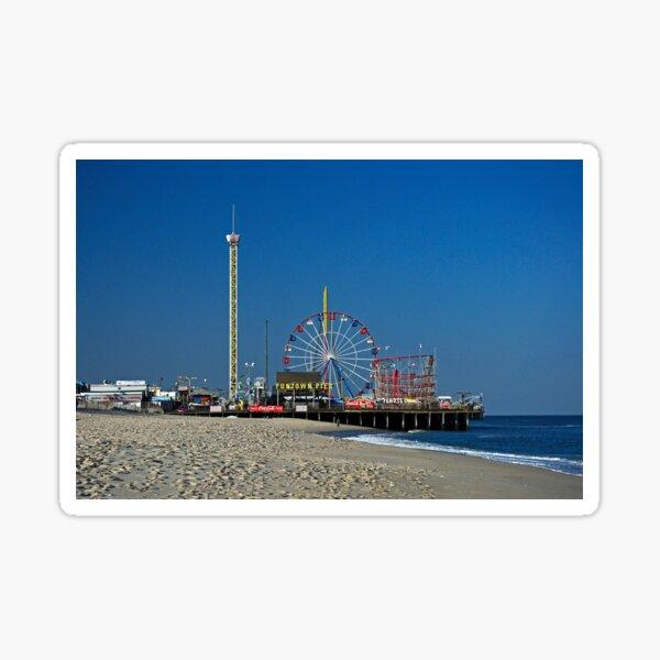 Funtown Pier - As It Was Sticker