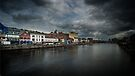 North Bank of the River Lee in Cork, Ireland by Yukondick