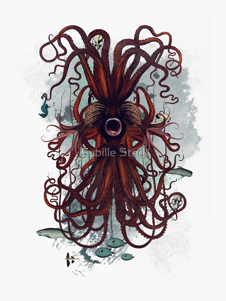 Cthulu by MagpieMagic