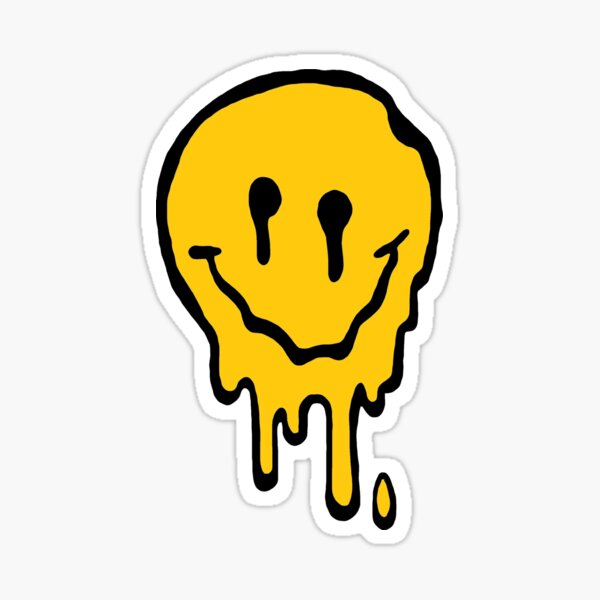 ACID SMILE Sticker