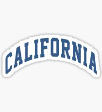 """california"" sticker Sticker"