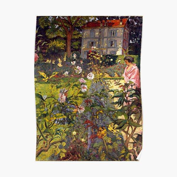 Édouard Vuillard - Garden at Vaucresson Poster
