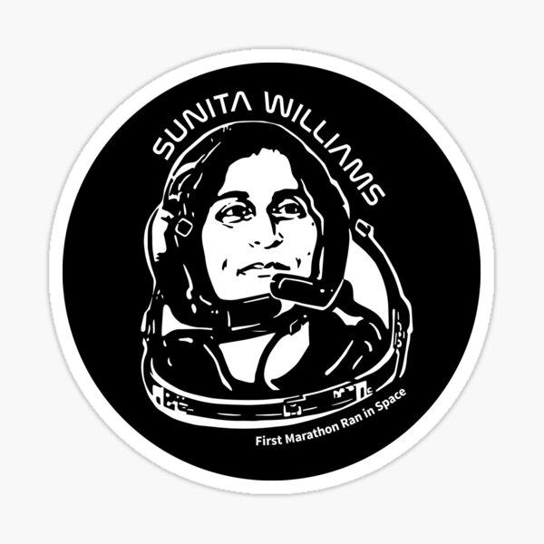 Women in Space: Sunita Williams Sticker