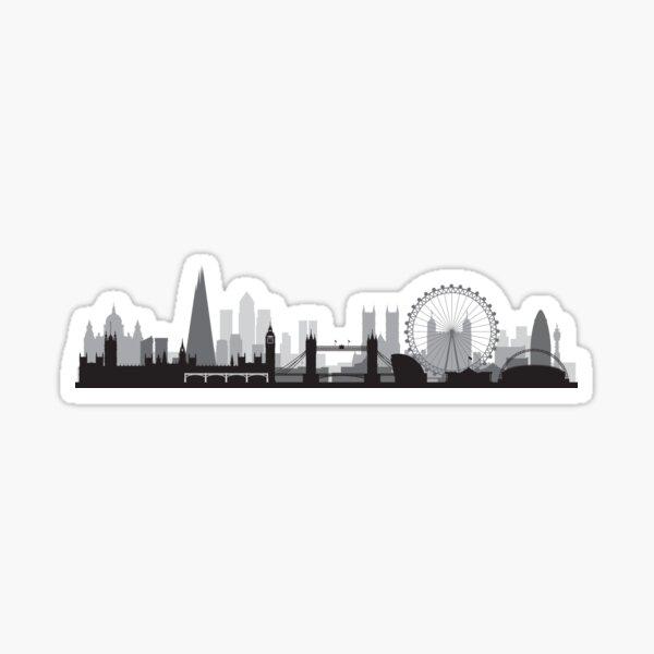 The London BIG Skyline Sticker