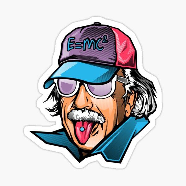 Cool Genius Sticker