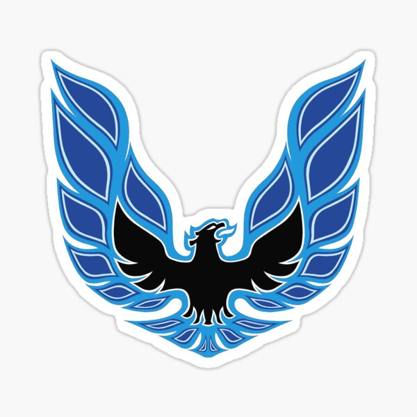 Copia de TRANS AM EAGLE BLUE Sticker