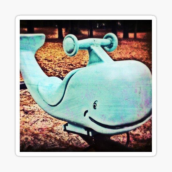 Happy Little Whale Sticker