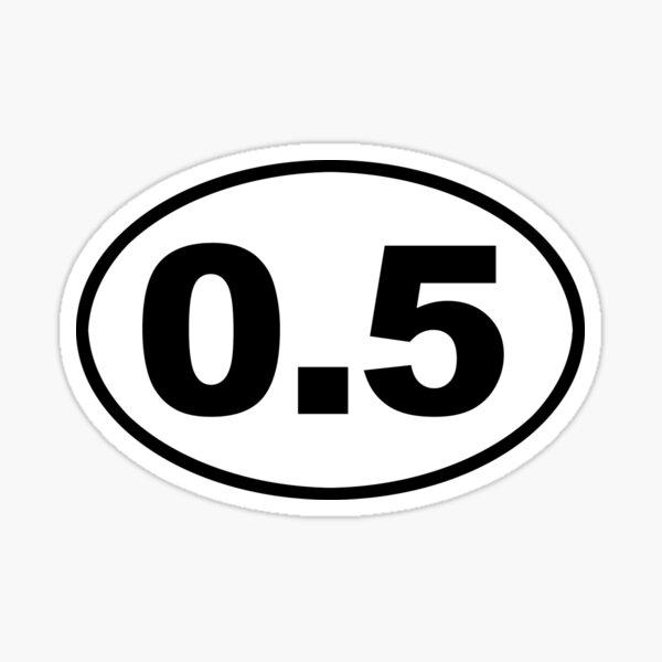 """OM Otay Mesa San Diego Oval car window bumper sticker decal 5/"""" x 3/"""""""